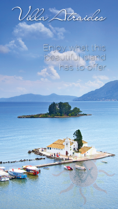 Enjoy what Corfu has to offer